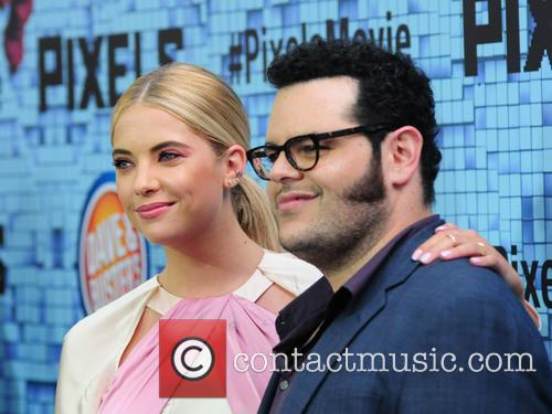 Ashley Benson and Josh Gad 7