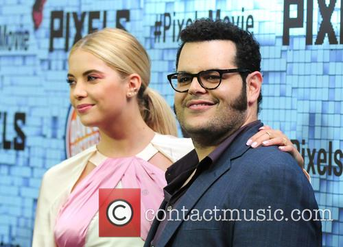 Ashley Benson and Josh Gad 8