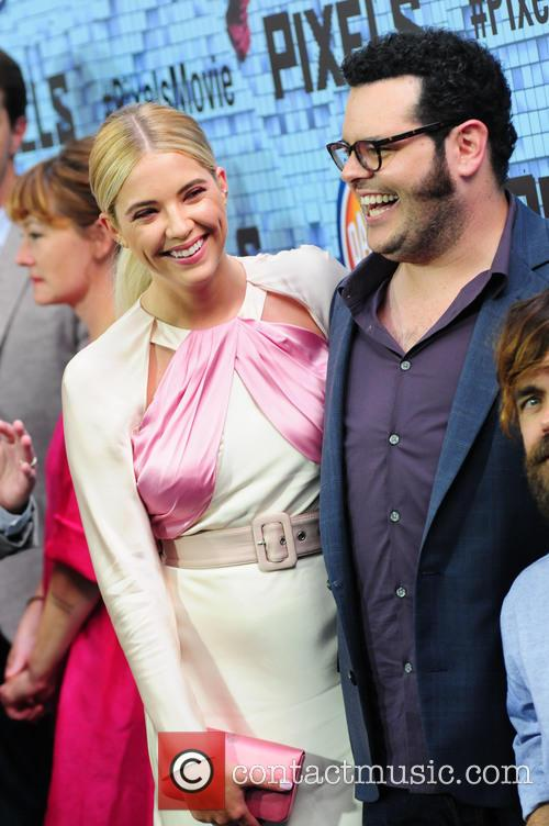 Ashley Benson and Josh Gad 9
