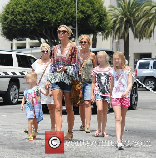 Alex Gerrard_family, Alex Gerrard, Lourdes Gerrard, Lilly-ella Gerrard, Lexie Gerrard, Julie Gerrard and Kim Curran