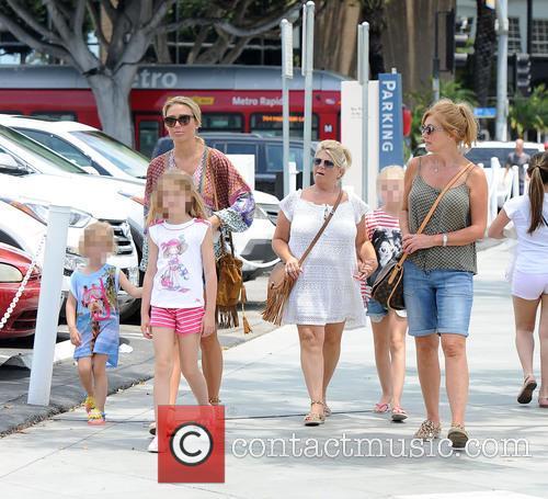 Alex Gerrard_family, Alex Gerrard, Lourdes Gerrard, Lilly-ella Gerrard, Lexie Gerrard, Julie Gerrard and Kim Curran 6