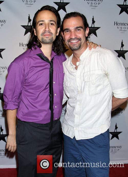 Lin-manuel Miranda and Javier Muñoz 2