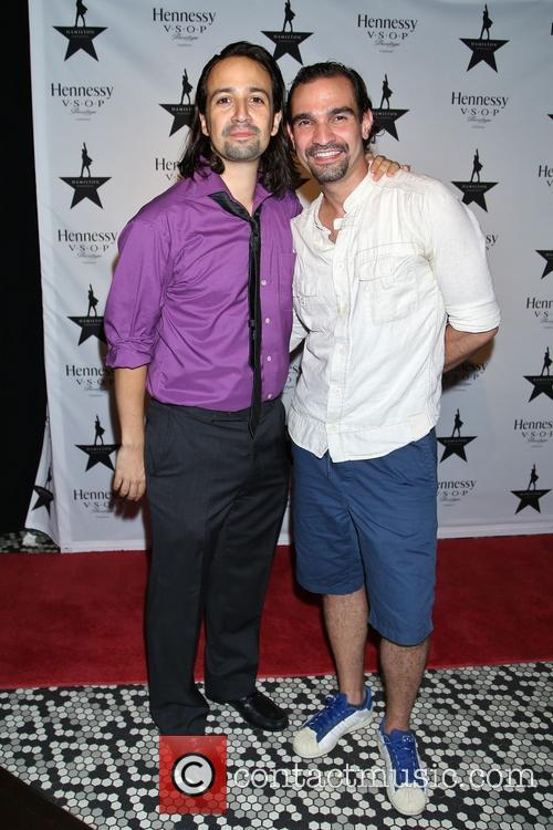 Lin-manuel Miranda and Javier Muñoz 1