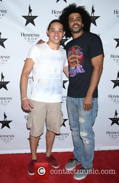 Anthony Ramos and Daveed Diggs 2