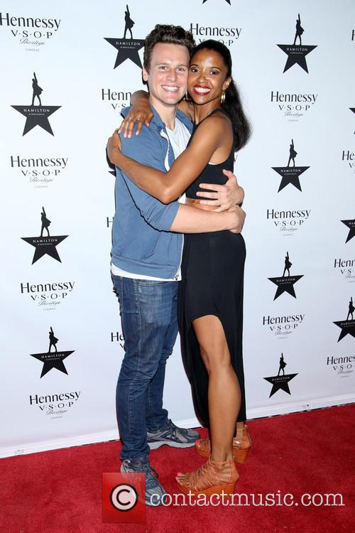 Jonathan Groff and Renée Elise Goldsberry 3