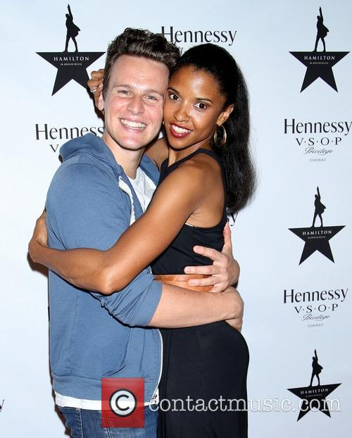 Jonathan Groff and Renée Elise Goldsberry 5