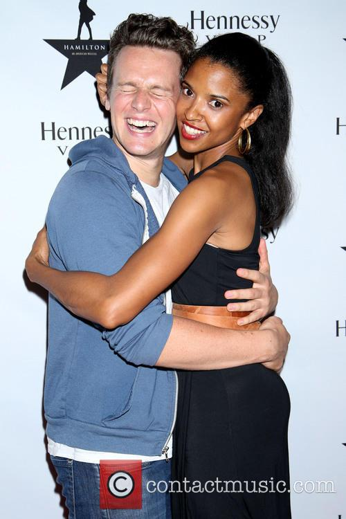 Jonathan Groff and Renée Elise Goldsberry 6