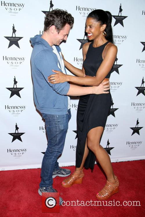 Jonathan Groff and Renée Elise Goldsberry 7