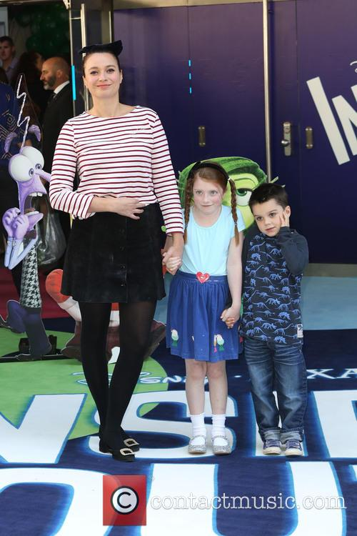 Gizzi Erskine and Children