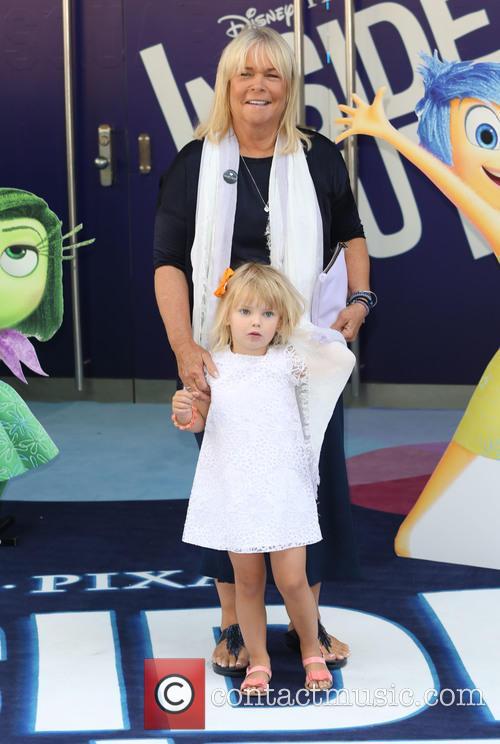 Linda Robson and Granddaughter 2