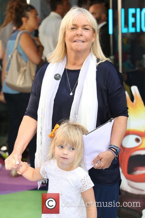 Linda Robson and Granddaughter 1
