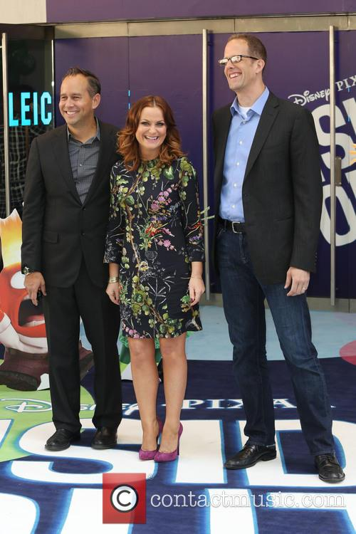Amy Poehler, Pete Docter and Jonas Rivera 8
