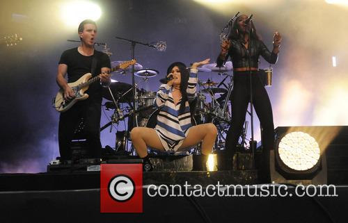 Jessie J performs at the Summers Series