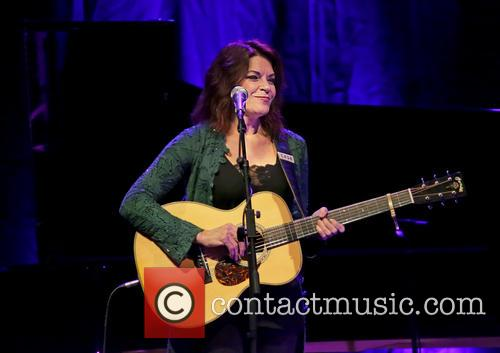 Rosanne Cash Performing at Liverpool Philharmonic Hall
