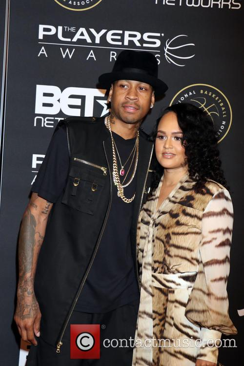 Allen Iverson and Tawanna Iverson 3