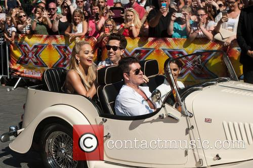 Nick Grimshaw, Rita Ora, Simon Cowell, Cheryl Cole and Cheryl Fernandez-versini 2