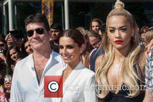Rita Ora, Simon Cowell, Cheryl Cole and Cheryl Fernandez-versini 9