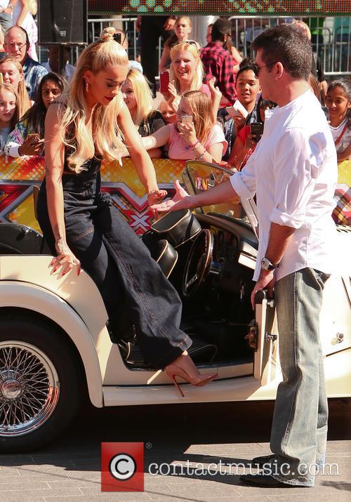 Simon Cowell and Rita Ora 6