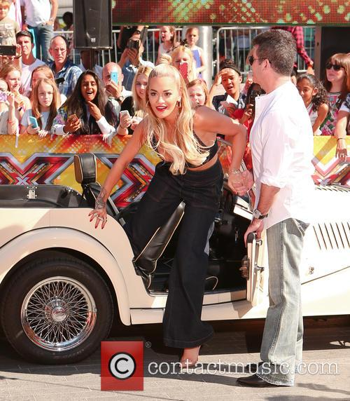 Simon Cowell and Rita Ora 7