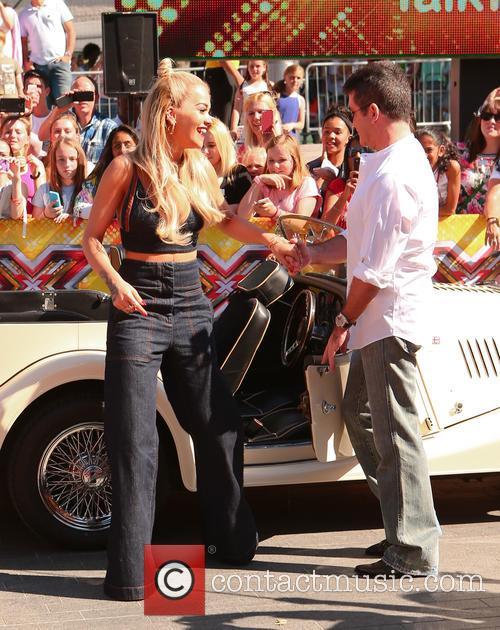 Simon Cowell and Rita Ora 8