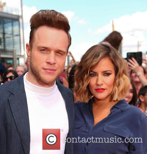 Olly Murs and Caroline Flack 1