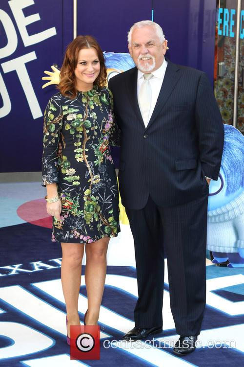 Amy Poehler and John Ratzenberger