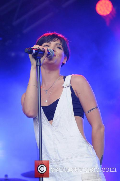 Sinead Harnett performs at the Summers Series