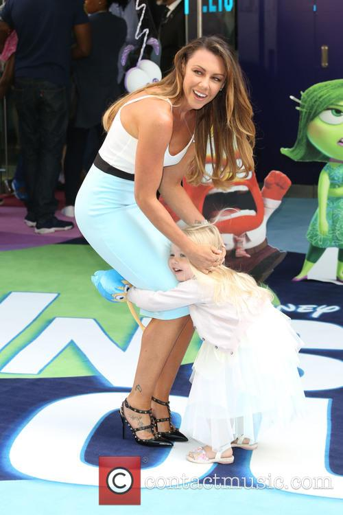 Michelle Heaton and Daughter Hope 2