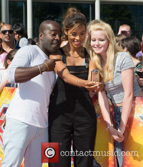 Melvin Odoom and Rochelle Humes 2