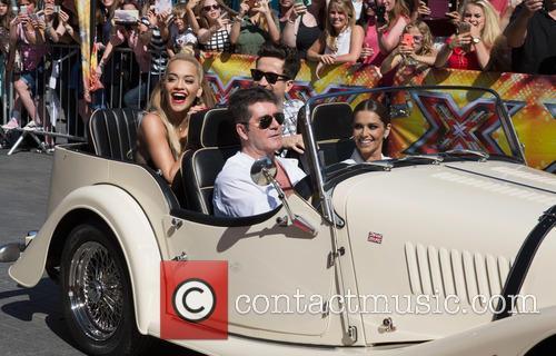 Rita Ora, Nick Grimshaw, Simon Cowell and Cheryl Fernandez-versini 10