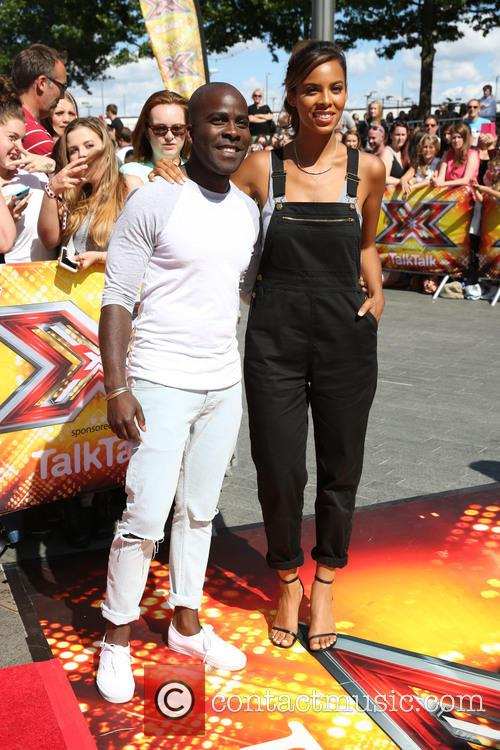 Melvin Odoom, Rochelle Wiseman and Rochelle Humes 1