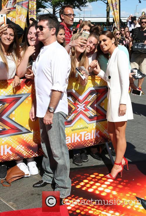 Simon Cowell, Cheryl Fernandez-versini and Cheryl Cole 10
