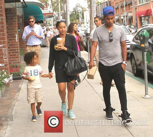 Tia Mowry, Cory Hardrict and Cree Taylor Hardrict 2