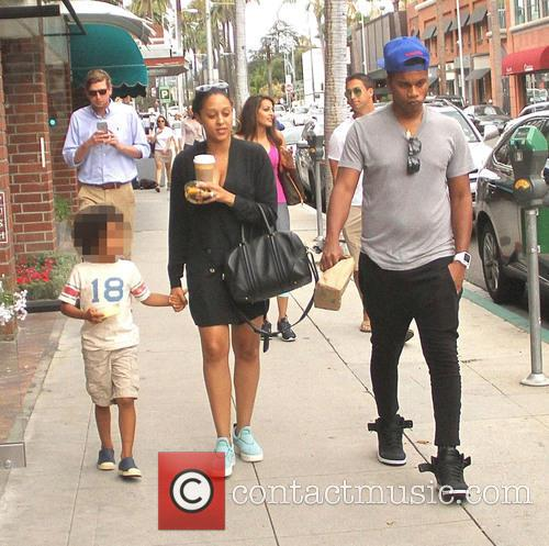 Tia Mowry, Cory Hardrict and Cree Taylor Hardrict 3