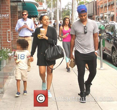 Tia Mowry, Cory Hardrict and Cree Taylor Hardrict 4