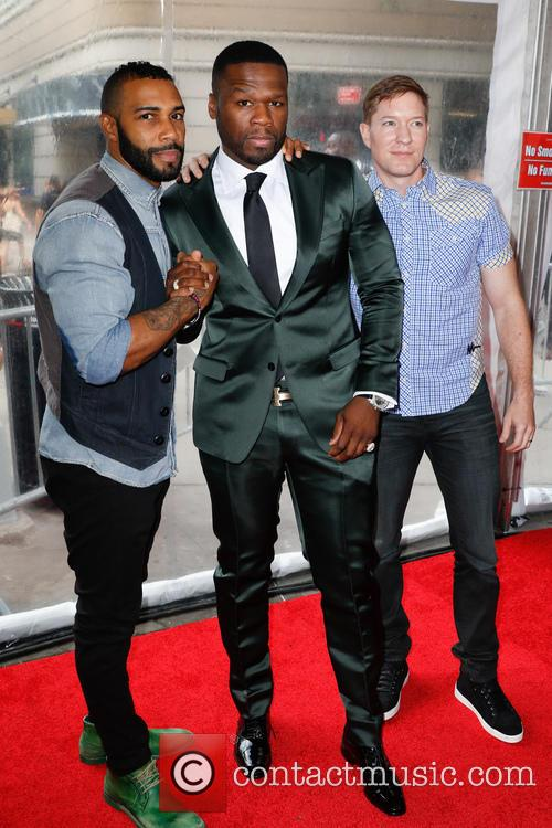 Omar Hardwick, 50 Cent and Joe Sikora 10