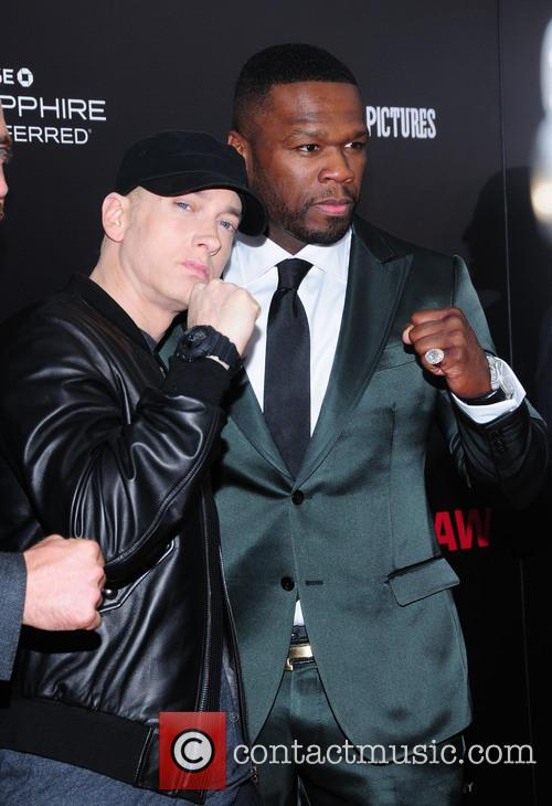 Eminem and Curtis 50 Cent Jackson 6
