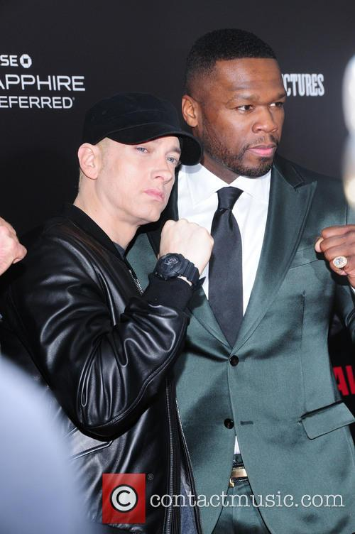 Eminem and Curtis 50 Cent Jackson