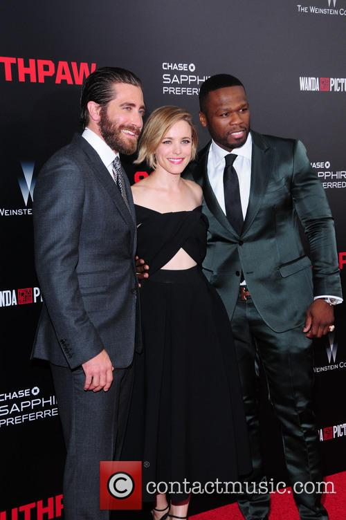 Jake Gyllenhaal, Curtis 50 Cent Jackson and Rachel Mcadams 4