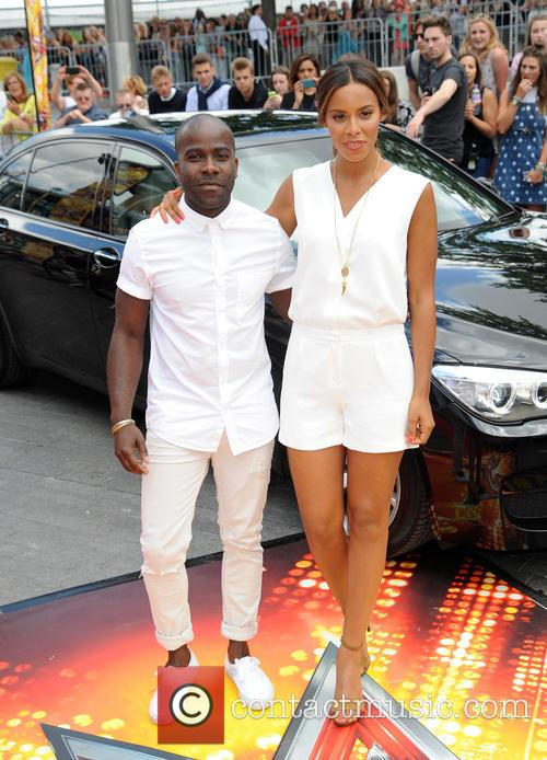 Melvin Odoom and Rochelle Humes 1