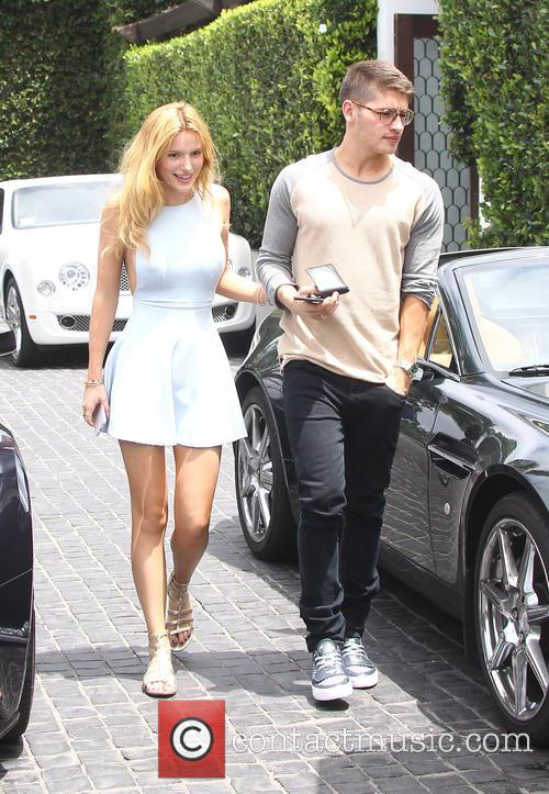 Bella Thorne, Gregg Sulkin and Los Angeles 9