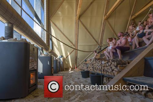 The World's Largest Sauna Open For The Summer...