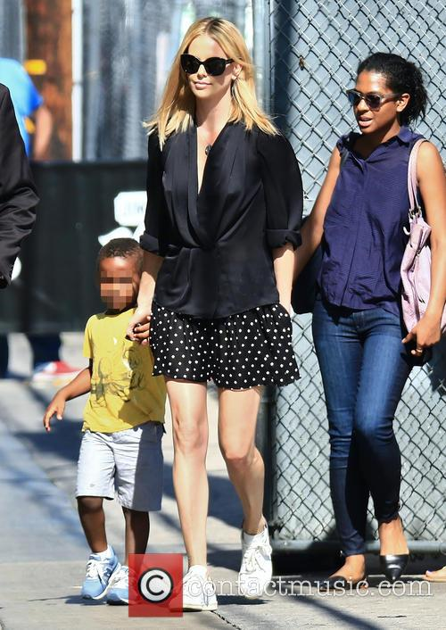 Charlize Theron Adopts Baby Daughter