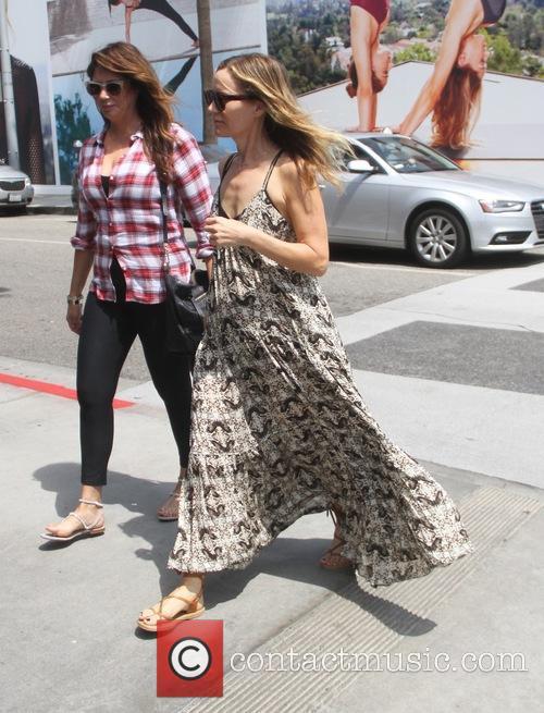Leslie Mann goes shopping in Beverly Hills
