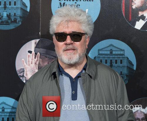 Pedro Almodovar arriving at the Universal Music Festival