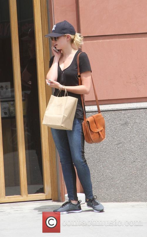 Sara Paxton goes shopping in Beverly Hills