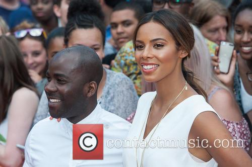 Rochelle Humes and Melvin Odoom 2