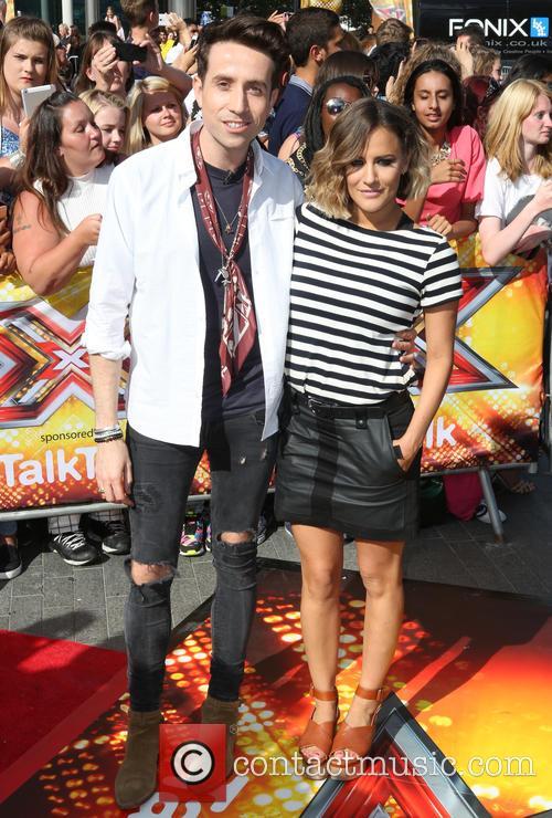 Nick Grimshaw and Caroline Flack 1