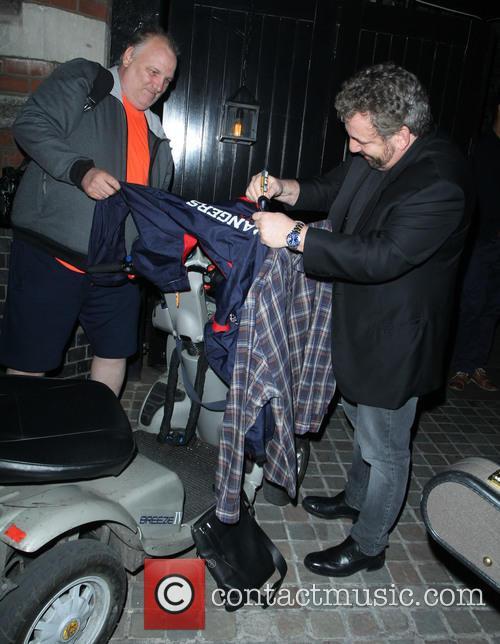 Celebrities visit Chiltern Firehouse