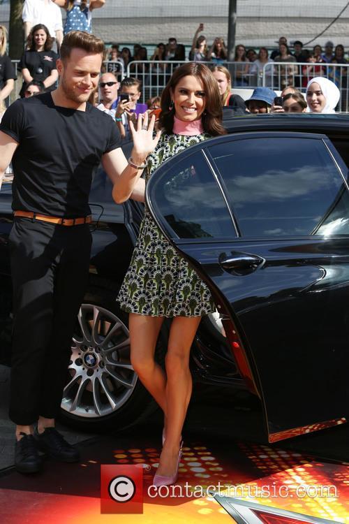 Olly Murs, Cheryl Fernandez-versini and Cheryl Cole 3